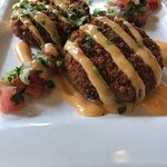 The Texas Twinkies were very flavorful, the crab cakes were great, the Texas Grill amazing.   Th