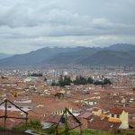 Vista de Cuzco desde Iglesia San Cristobal