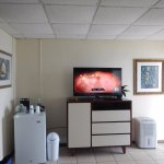 Room refrigerator, TV and unexpected dehumidifier