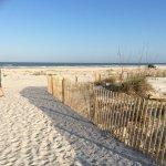 The beach private access
