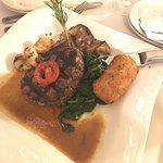 This filet was amazing! Exquisite presentation