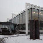 近代的な彫刻品中心のミュージアム