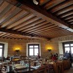 Dining room inside the Eagle's Nest