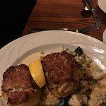 Chicken Cordon Bleu, Pork Schnitzel, Crab Cakes