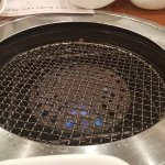 They change the type of grill for you for the next course of meat...wow!