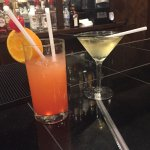 Enjoy this wonderful drink's at Maurizio's apple martini , and Rum-punch best ever 😇