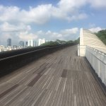 Henderson waves linking one park with another