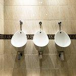 Public man toilet