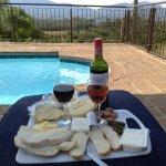 Sundowner ... Cheese and wine