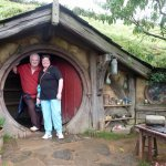 Kate and Keith in Hobbiton