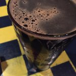 George's Corner Restaurant - pint of Zion Stout