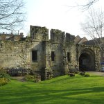 Yorkshire Museum Gardens - old barracks wall