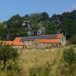 Rawcliffe House Farm - view from the fields