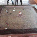 They said this was a carrom board !