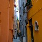 Narrow streets in Monterossa al Mare