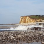 The sea at Hautot sur Mer