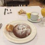 Una parte del desayuno