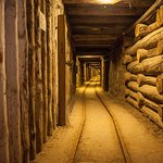 Wieliczka Salt Mine - As you can see, the crowds are at ground level only