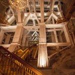 Wieliczka Salt Mine - massive support structure