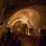 Wieliczka Salt Mine - probably all miners are religious