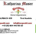 Contact direct the Bergwald in  Alpbach for your booking