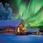 Enjoy an aurora in Finland !
