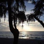 Vue sur la plage de Boucan depuis La Terrasse