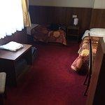 twin room 28 basic as u can get z shape room felt like a hallway