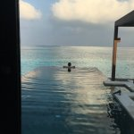 Water villa pool