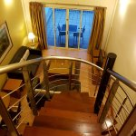 Duplex suite staircase