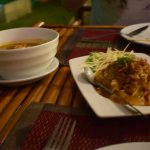 Pomelo salad & massaman curry