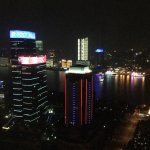 Views of Shanghai from hotel room.  Beautiful!