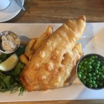 Local Haddock and Chips