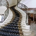 The stunning staircase