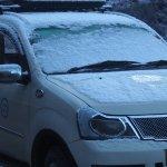 Snow at Hotel