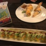 Angry Dragon roll & Dancing Lobster Roll