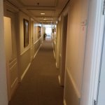 The hall to the rooms