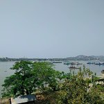 from shore looking over to Sagaing