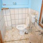 Bathroom of room no 46, Shimla Kalibari