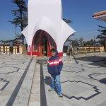 Open terrace of Shimla Kalibari