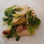 Baby Gem & Red Oak Salad