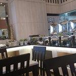 Restaurant at ground floor. @ Break fast