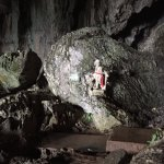 A fairy figurine to signify Fairy Caves