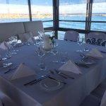 Sicht vom Restaurant auf das Meer