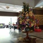 Hotel Lobby. Hotel Restaurant.