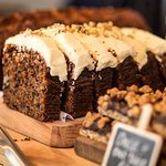 Our very popular carrot cake. (Credit Ann Aveyard photography)