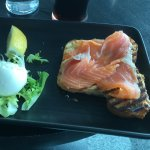 Brunch at chocolate lounge Dublin.
