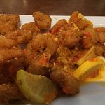 Spicy Shrimp Fritta for $9.49.