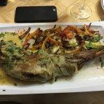 Lammkeule / Pulpo Asado / Salat mit Räucherfisch ....jeden Tag eine Überraschung - jeden Tag ein