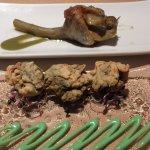 sabrosa alcachofa y exquisitas ortiguillas